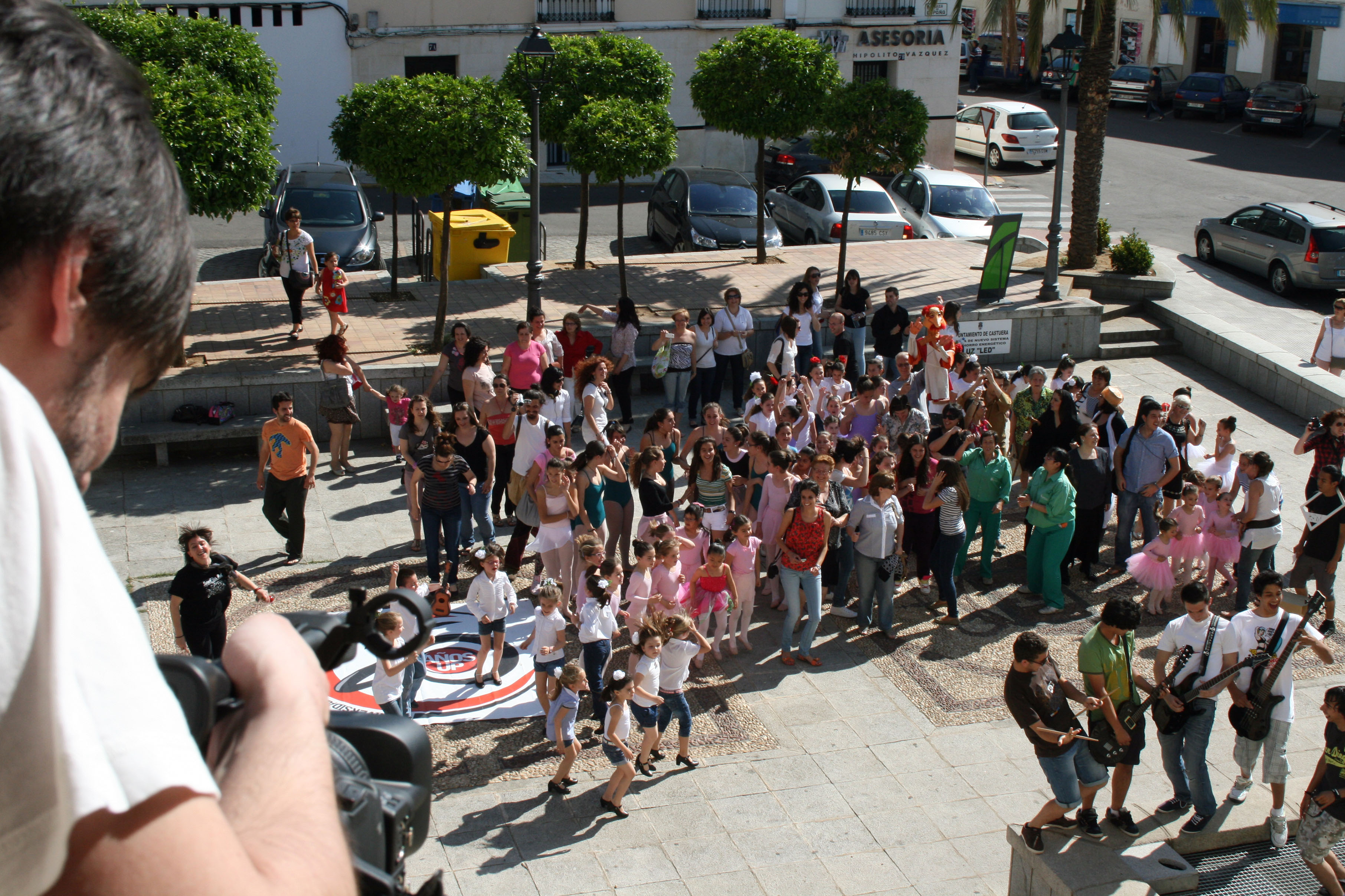 La Universidad Popular celebra su 25 Aniversario con la realización de un LipDub