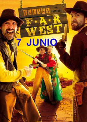 """La compañía """"Yllana"""" representa este viernes en Castuera la obra """"Far West"""""""