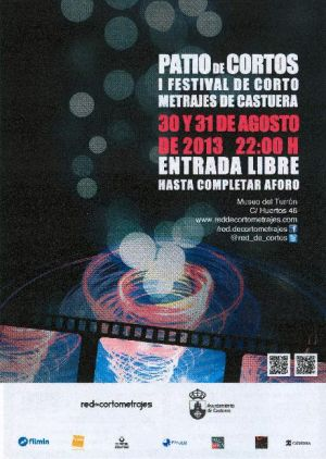 Castuera acoge el I Festival de Cortometrajes los días 30 y 31 de agosto